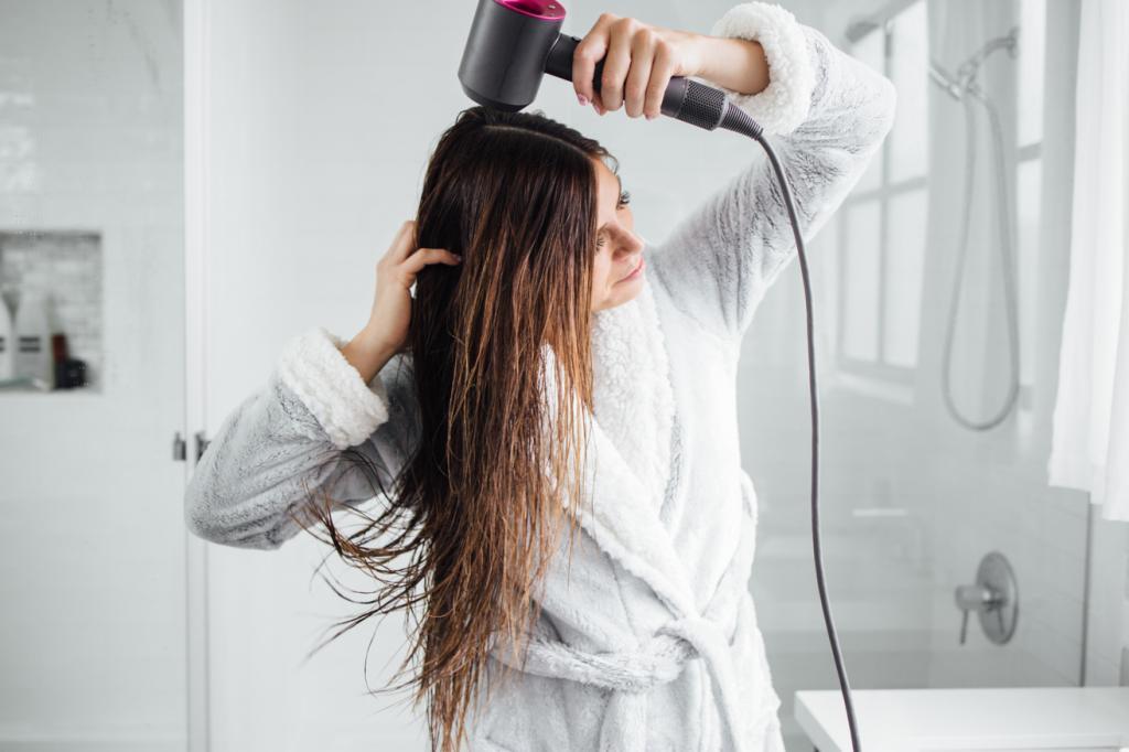 Dry Wet Hair