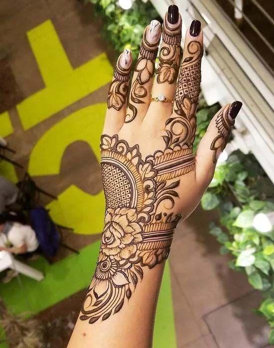 Beautiful Henna Design