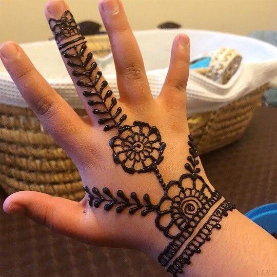Kids Henna Designs