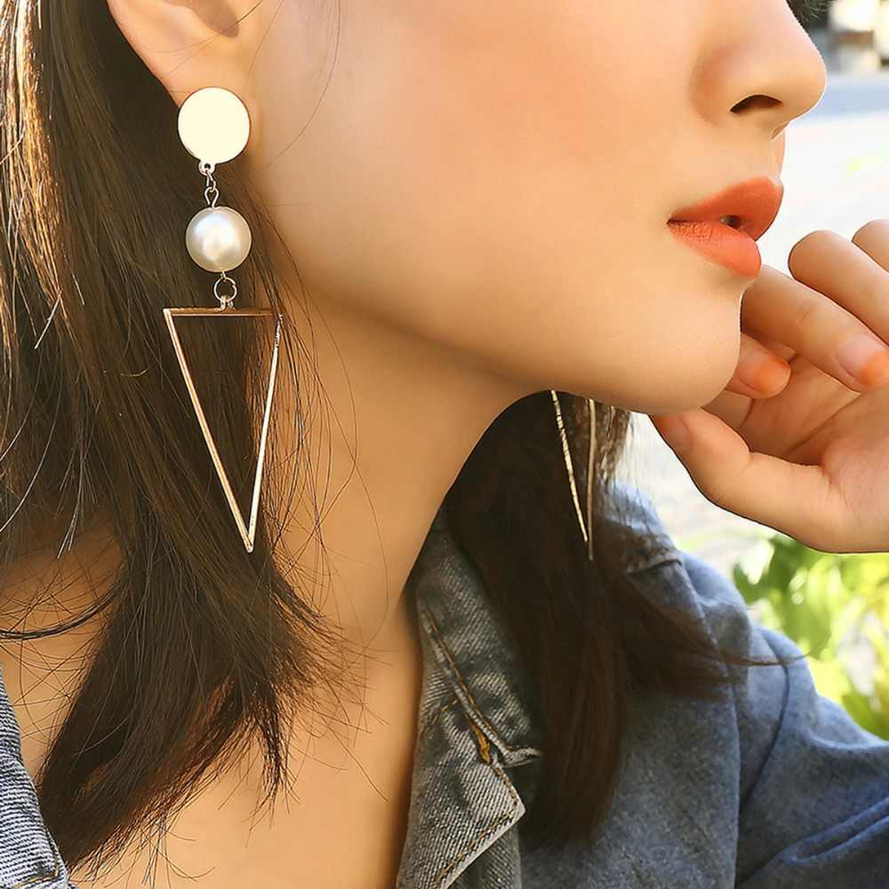 Woman Accessory Pendant Earrings