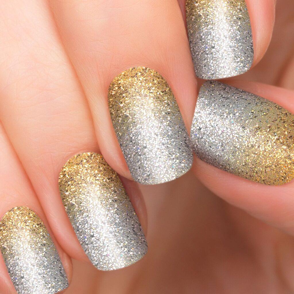 Mwellewm Glitter Gradient Nail Strips